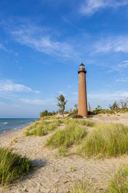 Little Sable Point Lighthouse near Mears, Michigan, USA. by Richard & Susan Day