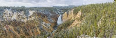 Lower Falls in fall, Yellowstone National Park, Wyoming