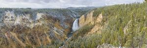 Lower Falls in fall, Yellowstone National Park, Wyoming by Richard & Susan Day