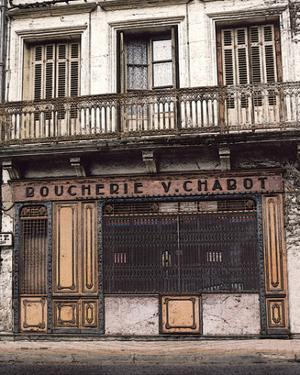 Boucherie v. Chabot on the Street by Richard Sutton