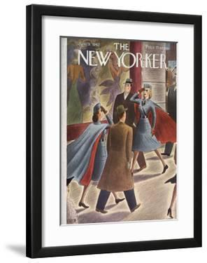 The New Yorker Cover - January 31, 1942 by Richard Taylor