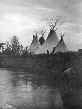 Beyond the Little Bighorn, 1908 by Richard Throssel