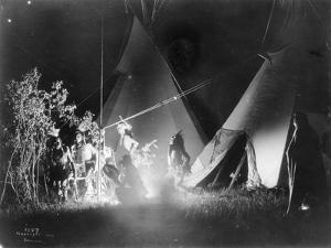 Dancing in the Firelight, 1907 by Richard Throssel