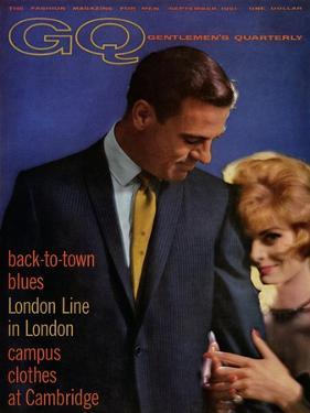 GQ Cover - September 1961 by Richard Waite