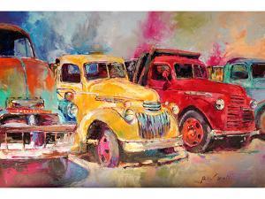 Old Trucks by Richard Wallich