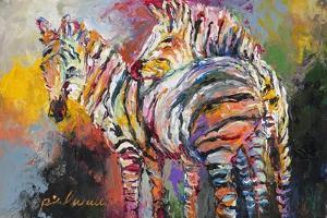 Zebras by Richard Wallich