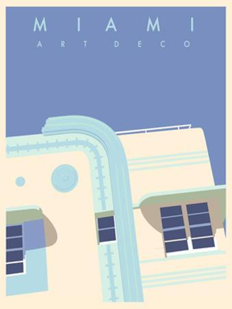 Art Deco-Miami by Richard Weiss