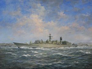 H.M.S. Chatham Type 22 (Batch 3) Frigate, 1996 by Richard Willis