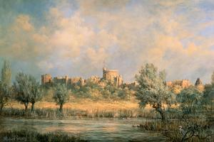 Windsor Castle: from the River Thames by Richard Willis