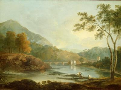 Castell Dinas Bran, Llangollen, C.1771