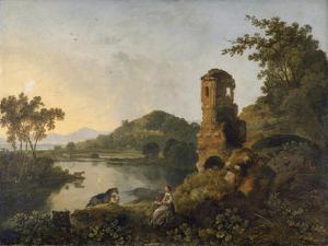 Cicero's Villa, 1760-63 by Richard Wilson