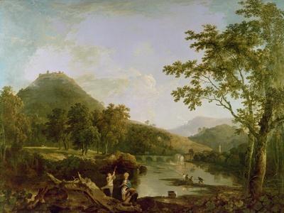 Dinas Bran from Llangollen, 1770-71