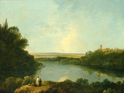 The Nemi Lake Near Rome, C.1760