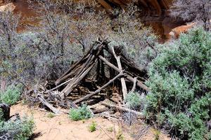 Double Stack Anasazi Ruin in Butler Wash, Cedar Mesa, Utah by Richard Wright