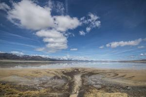 Middle Alkali Lake, California, Hwy 299. by Richard Wright
