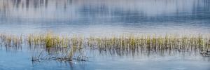 Panorama of lake. by Richard Wright