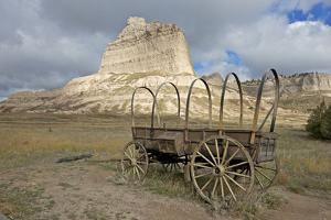 Scotts Bluff in Present Day Nebraska by Richard Wright