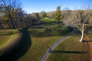 The Great Serpent Mound, Ohio Brush Creek, Adams County, Ohio by Richard Wright