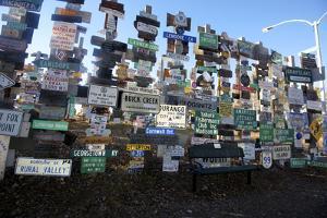 The Yukon's Watson Lake Sign Post Forest, Watson Lake, Canada by Richard Wright