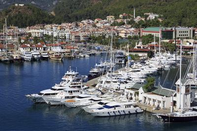 Yacht Marina, Marmaris, Anatolia, Turkey, Asia Minor, Eurasia