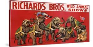 Richards Bros. Wild Animal Shows, ca. 1925