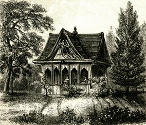 Rw Emerson, Summerhouse by Richardson Cox