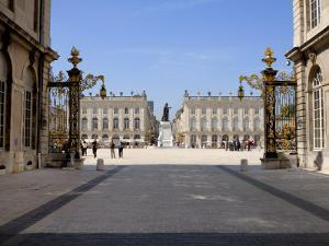 Gilded Wrought Iron Gates by Jean Lamor, Place Stanislas, Nancy, Lorraine, France by Richardson Peter