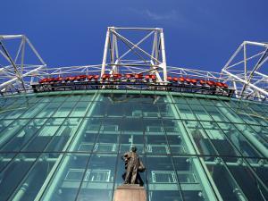 Manchester United Football Club Stadium, Old Trafford, Manchester, England, United Kingdom, Europe by Richardson Peter