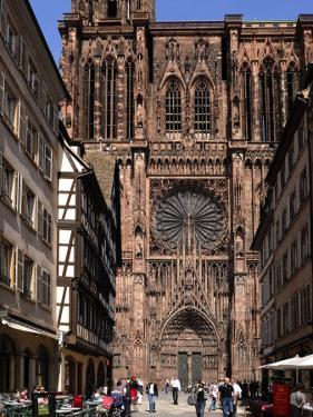 Notre Dame Cathedral, Strasbourg, Alsace, France, Europe by Richardson Peter