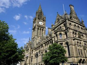 Town Hall, Albert Square, Manchester, England, United Kingdom, Europe by Richardson Peter