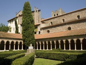 Abbey, Arles-Sur-Tech, Vallespir, Languedoc-Roussillon, France, Europe by Richardson Rolf