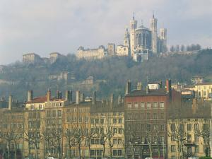 Basilica Notre Dame De Fourviere, Lyon, Rhone Alpes, France, Europe by Richardson Rolf