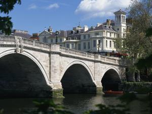 Bridge and River Thames, Richmond, Surrey, England, United Kingdom, Europe by Richardson Rolf