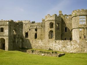 Carew Castle, Near Pembroke, Pembrokeshire, Wales, United Kingdom, Europe by Richardson Rolf