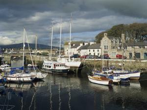 Castletown Harbour, Isle of Man, England, United Kingdom, Europe by Richardson Rolf