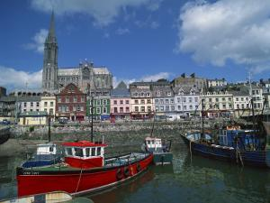 Harbour at Cobh, County Cork, Munster, Republic of Ireland, Europe by Richardson Rolf