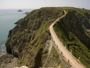 La Coupee, Sark, Channel Islands, United Kingdom, Europe by Richardson Rolf