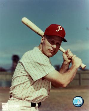 Richie Ashburn - With bat