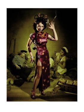 Opium Den Sailor Girl by Richie Fahey