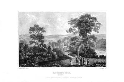 Richmond Hill, Surrey, England, 1829 by J Rogers