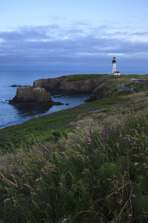 Historic Yaquina Head Lighthouse, Newport, Oregon, USA
