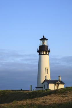 Historic Yaquina Head Lighthouse, Newport, Oregon, USA by Rick A. Brown