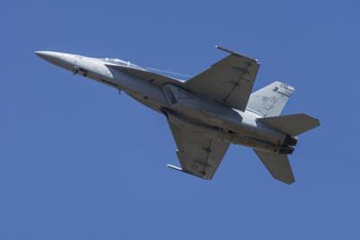 USA, Oregon, Hillsboro, FA-18F Super Hornet. by Rick A Brown
