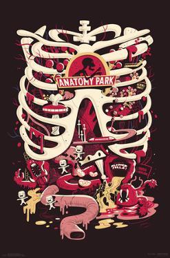 RICK AND MORTY - ANATOMY PARK