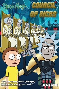 Rick And Morty - Council Of Ricks