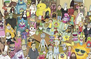 Rick And Morty - Group