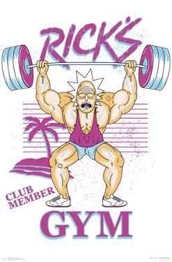 RICK AND MORTY - RICK'S GYM