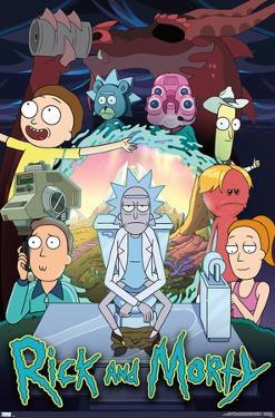 Rick And Morty - Season 4 Group
