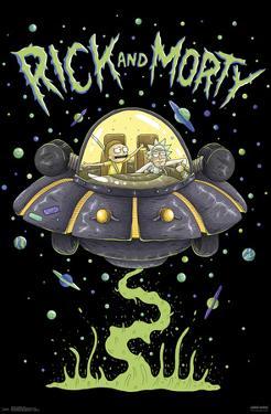 RICK AND MORTY - SHIP