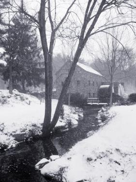 Sudbury Gristmill After Storm, MA by Rick Berkowitz